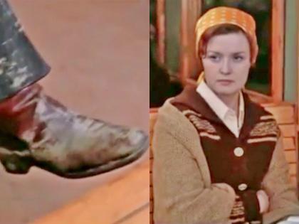 Героиня Веры Алентовой в фильме «Москва слезам не верит» тоже оценивала мужчину по обуви // YouTube