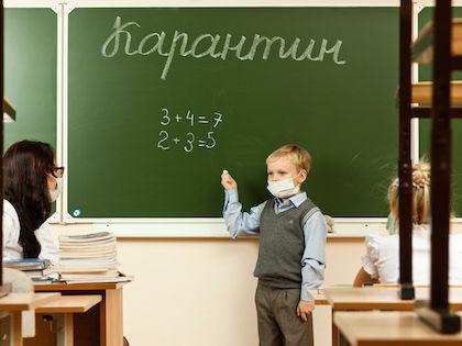 Занятия приостановлены для учеников с 1 по 11 классы //  Владимир Мельников