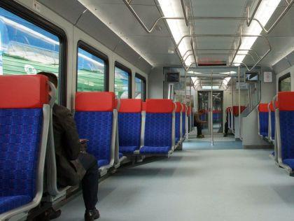 Современные скоростные поезда оказались чувствительны к низким температурам // Ольга Соколова / Global Look Press