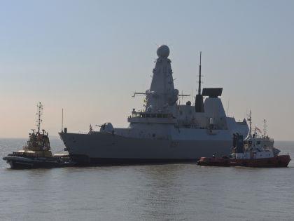 Корабль НАТО // Ian Homer/Global Look