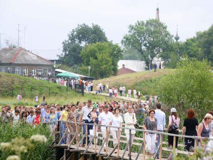 Кто сказал, что только крупные города принимают множество туристов? // Global Look Press/Vladimir Vladimirsky