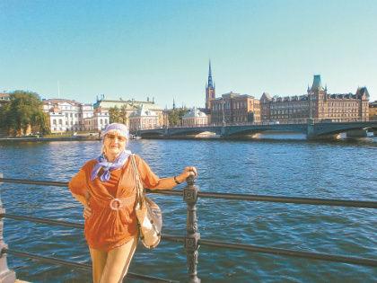 В Стокгольме Макашова была дважды // Анастасия Пушкарева, личный архив Ноны Макашовой