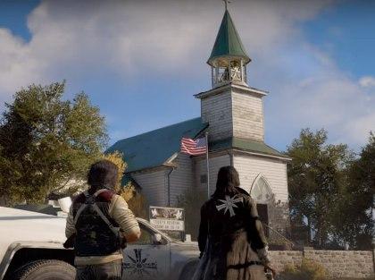 По мнению авторов петиции, граждан США может оскорбить тот факт, что основными злодеями в Far Cry 5 станут белые американские христиане // Стоп-кадр с YouTube