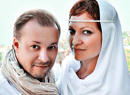 Виктор Петлюра с женой // из личного архива Виктора Петлюры