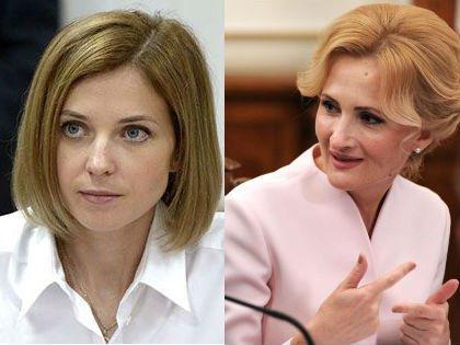 Наталья Поклонская и Ирина Яровая // kremlin.ru