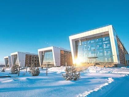 Так выглядят студенческие общежития в центре Иннополиса // Ольга Кузнецова и Леся Полякова