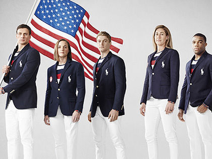 Форма сборной США для открытия Олимпиады в Рио // United States Olympic Committee