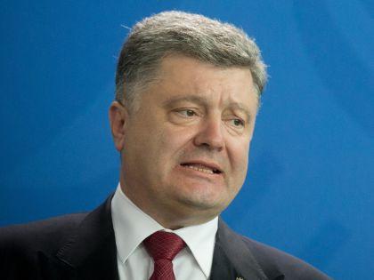 От рокового ведра Порошенко спас случай // Global Look Press