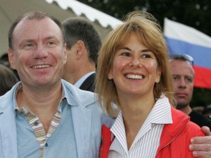 Владимир Потанин с женой Натальей // PhotoXpress