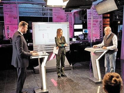 Дебаты Алексея Навального и Владимира Познера // телеканал «Дождь»