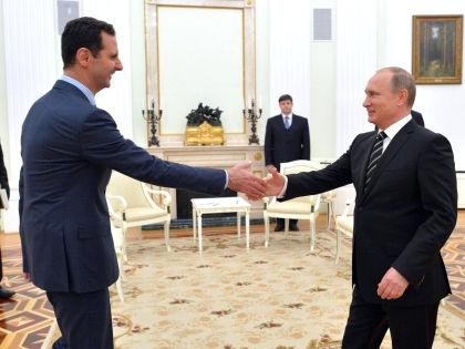 Башар Асад и Владимир Путин // Kremlin.ru