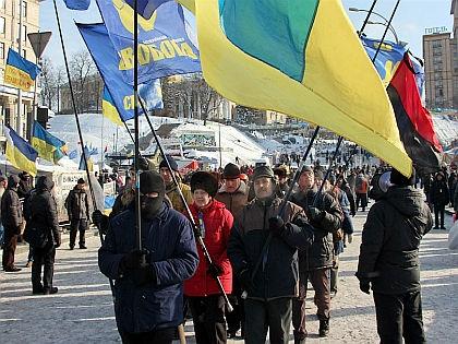 Протесты на Украине // Russian Look