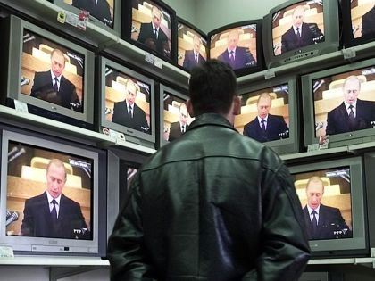 Владимир Путин на ТВ // Global Look