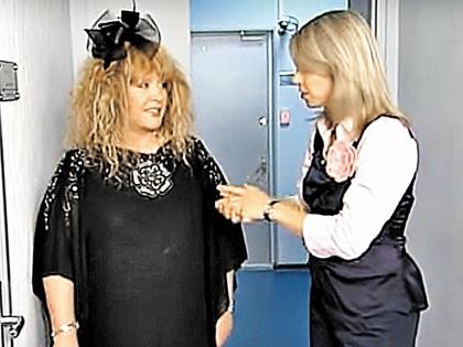 Алла Пугачева и Наталья Мальцева // стоп-кадр программы «Квартирный вопрос»