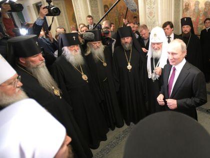 """""""Церковь ко всякой власти относится лояльно"""" // Global Look Press"""