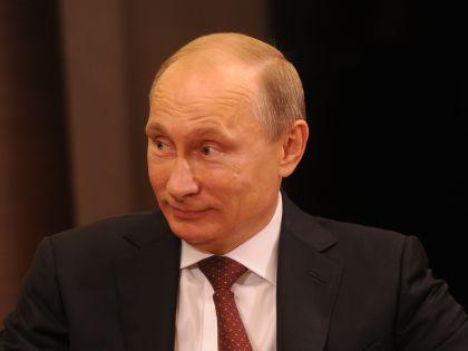 Президент РФ Владимир Путин //  Russian Look