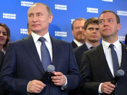 Владимир Путин и Дмитрий Медведев возглавят комиссию по реформам // Global Look Press