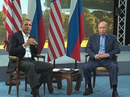 Барак Обама и Владимир Путин // Kremlin.ru