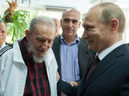 Владимир Путин и Фидель Кастро // Global Look