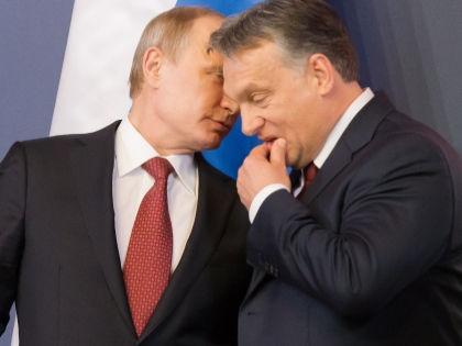 Владимир Путин и Виктор Орбан // Global Look Press