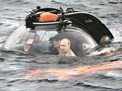 """На прошлой неделе Путин спустился на дно // РИА """"Новости"""""""