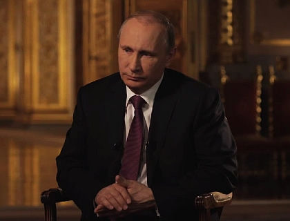 Владимир Путин дает интервью Владимиру Соловьеву // кадр Youtube.com