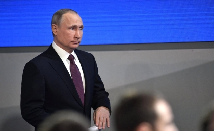 Путин говорит // Global Look Press