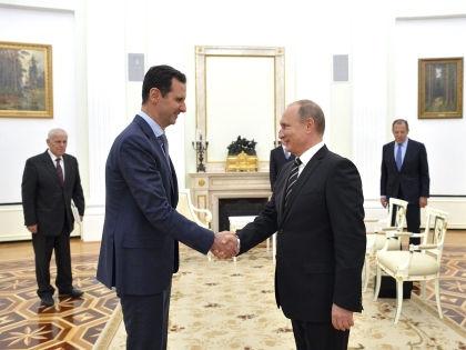 Встреча Башара Асада и Владимира Путина // Алексей Дружинин/Global Look Press