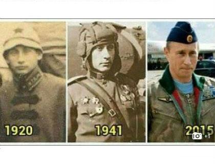 Конспирологи утверждают, что Владимиру Путину больше 63 лет // Фотография статьи The Daily Mail