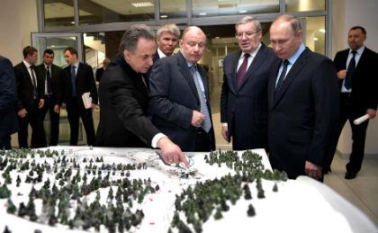 Путин и Дерипаска // Global Look Press