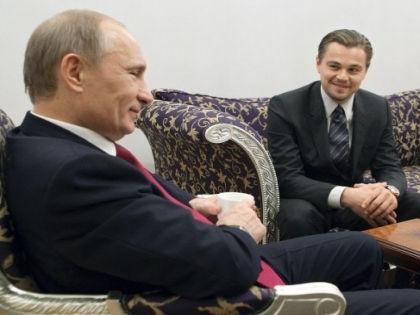 Владимир Путин и Леонардо Ди Каприо // Алексей Дружинин / РИА «Новости»