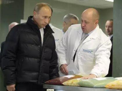 Владимир Путин и Евгений Пригожин // архив оф. сайта Председателя Правительства РФ