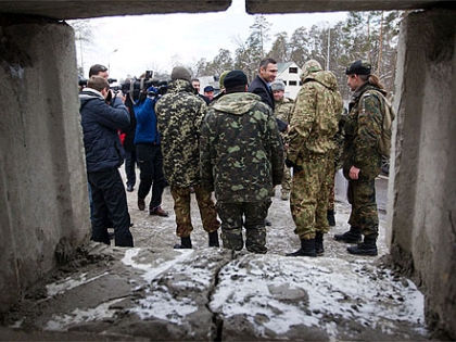 Блокпосты установили в рамках проведения контртеррористических мероприятий // Сайт Виталия Кличко