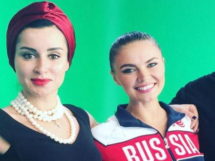 """Канделаки и """"новая"""" Кабаева // Instagram Тины Канделаки"""