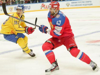 Александр Радулов – лидер нынешней сборной, но и его усилий для победы мало // Официальный сайт ФХР