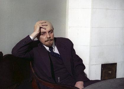Кирилл Лавров в роли Ленина // Global Look Press