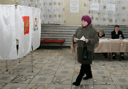 23% россиян отдали свои голоса на выборах до полудня // Global Look Press
