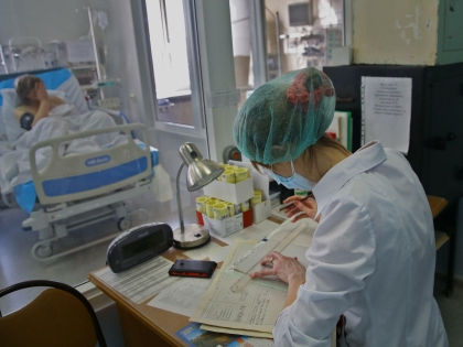Девушка находится в реанимации НИИ скорой помощи имени Склифосовского // Global Look Press