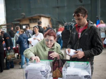 Референдум на юго-востоке Украины // Global Look