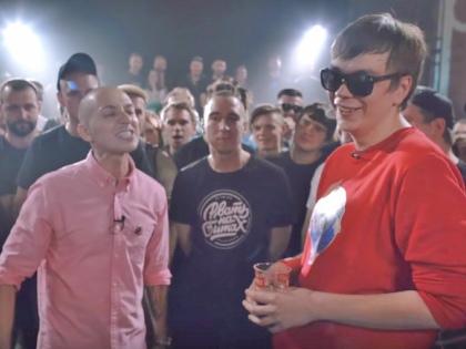 Oxxxymiron vs. Гнойный // Стоп-кадр YouTube