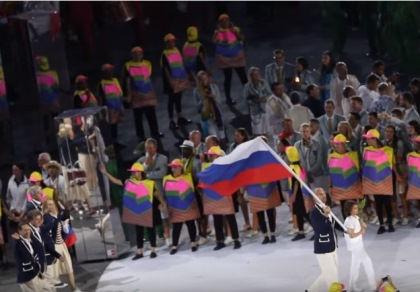 Олимпийская сборная Российской Федерации // Стопкадр YouTube