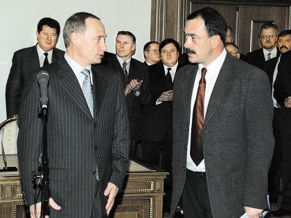Владимир Путин и Михаил Кожухов // РИА «Новости»