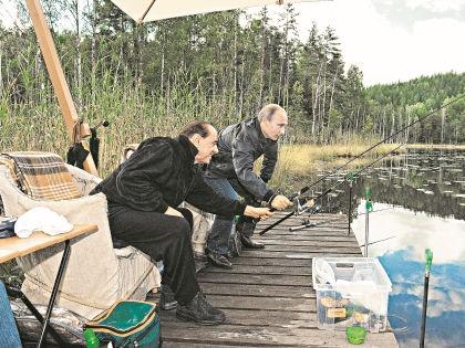 Старые друзья любят отдыхать на природе // РИА «Новости»