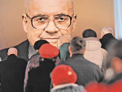 3 декабря Эльдара Рязанова похоронили на Новодевичьем кладбище // РИА «Новости»