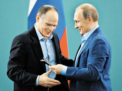 Эцио Гамба и Владимир Путин // РИА «Новости»