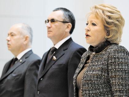 Открытие сессии началось с песнопений российского гимна // РИА «Новости»