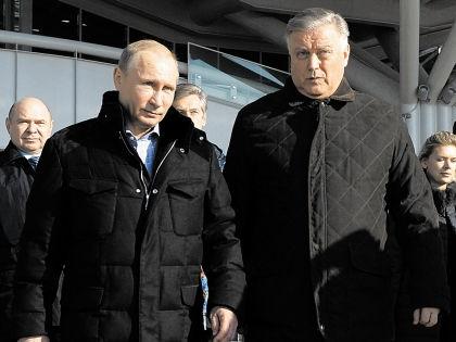 Формально Путин из «Озера» уже «выплыл», а Якунин пока остался // РИА «Новости»