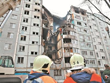 Последствия взрыва бытового газа в жилом доме в Волгограде // РИА «Новости»