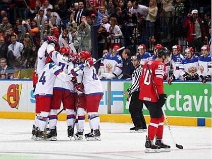 ЧМ-2014. Россия - Швейцария 5-0 // IIHF / Сайт Международной федерации хоккея