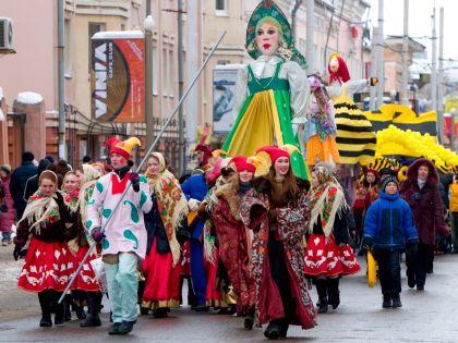 В 2017 году Масленичная неделя в России пройдёт с 20 по 26 февраля // Global Look Press
